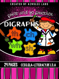 Digraphs CH, SH, TH, WH Word Work Packet