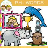 Digraphs Clip Art:  Ph Words