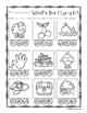 Digraphs Clip Cards and Activity Sheet ( ch- / sh- / th- / wh- )
