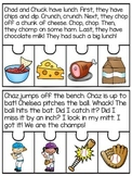 Digraphs Reading Fluency and Sequencing Puzzles