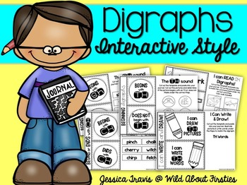 Digraphs ~ Interactive Style {freebie}