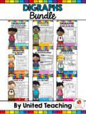 Digraphs No Prep GROWING BUNDLE