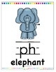 Digraph Posters th- sh- ch- wh- ph- oo- ee-