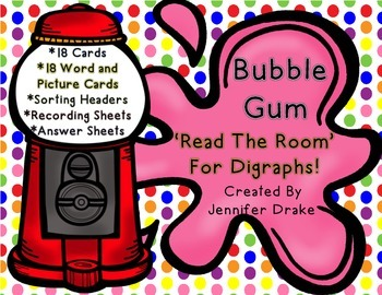 Digraphs 'Read The Room' ~Bubble Gum~ Version! Several Way