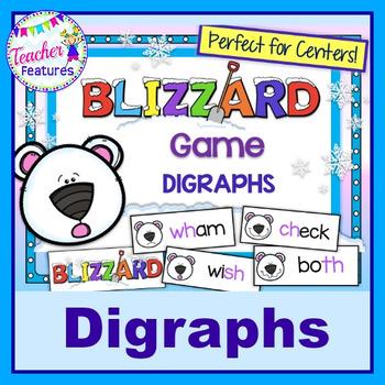 Digraphs (Sh-Th-Ch-Wh): Polar Bear & Blizzard Theme