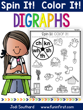 Digraphs Spin It Color It