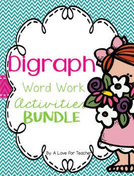 Digraphs Word Work Activities