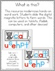 Digraphs Word Work for PowerPoint Use (Digital Hands-On Ph