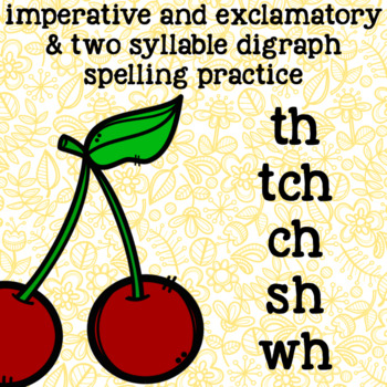 Digraphs ch, tch, wh, th, sh - Multisyllable Words - 2nd G