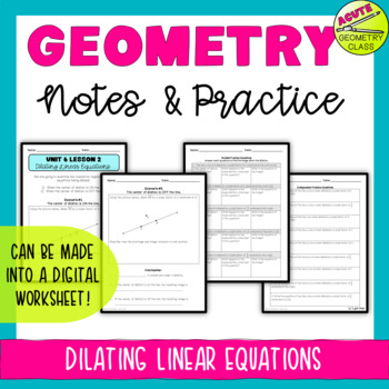 Dilating Linear Equations