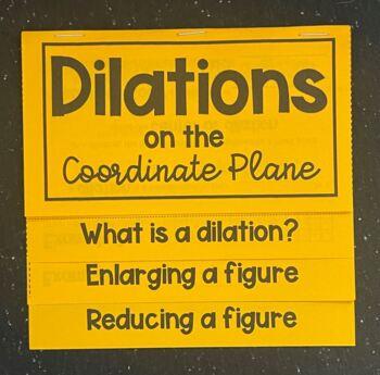 Dilations (Geometry Foldable)