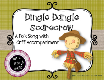 Dingle Dangle Scarecrow - An Autumn Folk Song w/ Orff Inst
