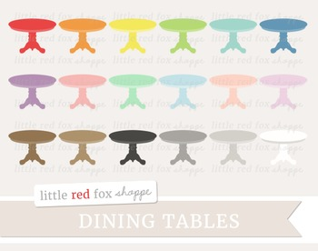 Dining Table Clipart; Furniture