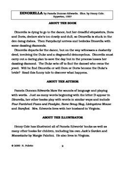 Dinorella Literature Guide