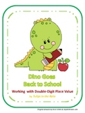 Dino's Two-Digit Place Value Practice and Review by Tulips