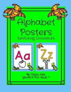 Dinosaur Alphabet Posters