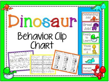 Dinosaur Behavior Clip Chart