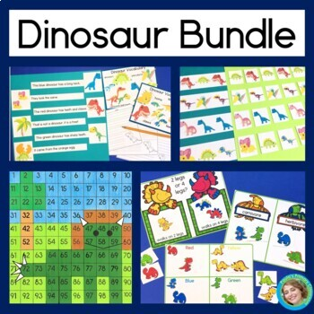 Dinosaur Bundle: reading and math