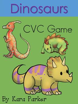 Dinosaur CVC Cards
