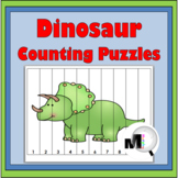 Dinosaur Theme Counting Puzzles