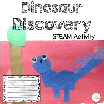 Narrative Writing Creatively with Dinosaur Theme