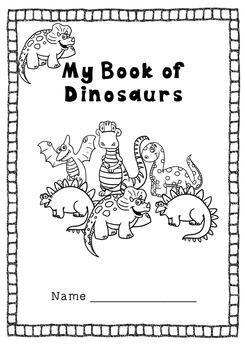 Dinosaur Early Skills Book