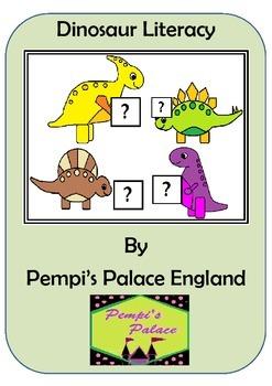 Dinosaur Early Writing & Emergent Reader