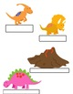 Dinosaur Expository Writing and Project Materials!