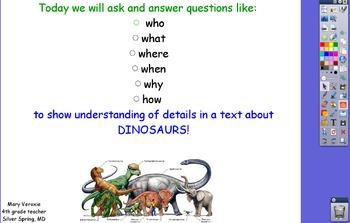 Dinosaur Flipchart