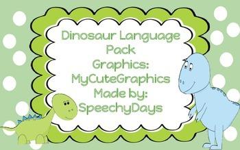 Dinosaur Language Pack Freebie