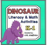 Dinosaur Literacy and Math Activities