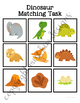 Dinosaur Matching Folder Game for Early Childhood Special
