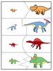 Dinosaur Matching Puzzle Game for Toddlers and Preschoolers
