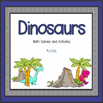 Dinosaur Math Games and Activities