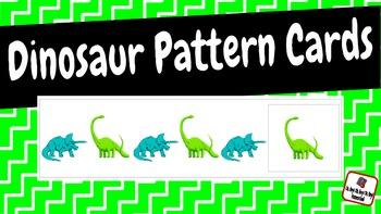 Patterns: Dinosaur Pattern Cards
