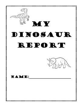 Dinosaur Report