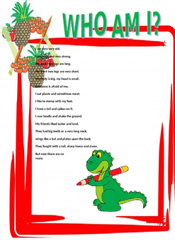 Dinosaur Riddle