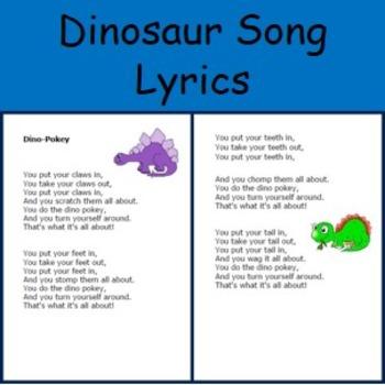 Dinosaur Song Lyrics