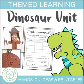 Dinosaur Unit of Work - Literacy, Numeracy, Science and Cr