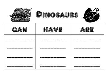 Dinosaur Words
