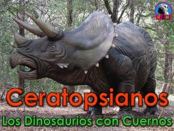 Los Dinosaurios: Los Ceratopsianos - Los Dinosaurios con Cuernos