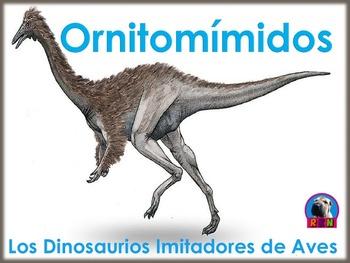 Los Dinosaurios: Los Ornitomímidos - Los Dinosaurios Imit