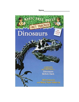 Dinosaurs: A Magic Tree House Non-Fiction Reading Comprehe