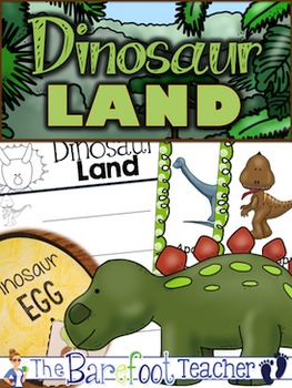 Dinosaurs Math & Literacy Activity Pack