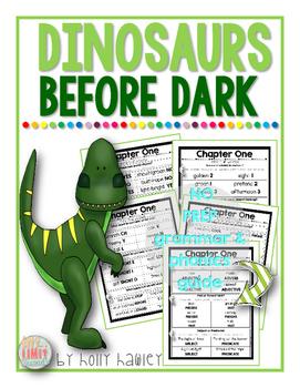 Dinosaurs Before Dark Grammar & Phonics Read Aloud Guide