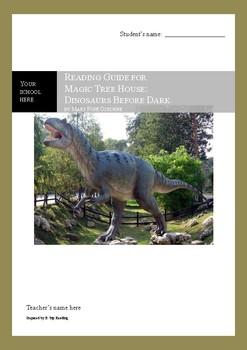 Dinosaurs Before Dark (Magic Tree House) Reading Guide / N