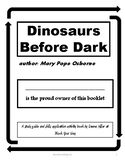 Dinosaurs Before Dark study guide and skill pages