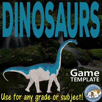 Dinosaurs Bomb Game Template