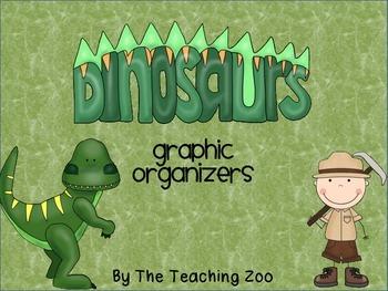 Dinosaurs Graphic Organizers