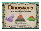 Dinosaurs Literacy and Math Activities